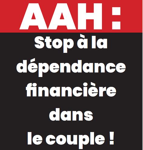 AAH, stop à la dépendance financière dans le couple